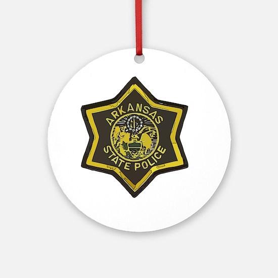Arkansas SP patch Round Ornament