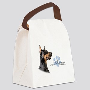 Doberman Canvas Lunch Bag