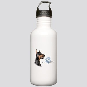 Doberman Stainless Water Bottle 1.0L