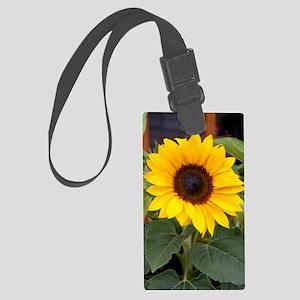 Sunflower Youth Large Luggage Tag