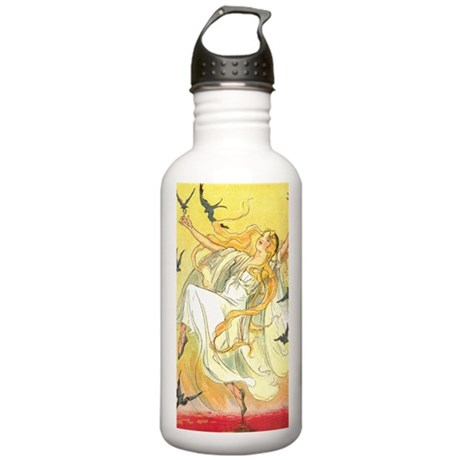 Oz Polychrome the Rain Stainless Water Bottle 1.0L