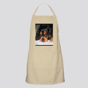 Puppy King Charles Spaniels Pillow Apron
