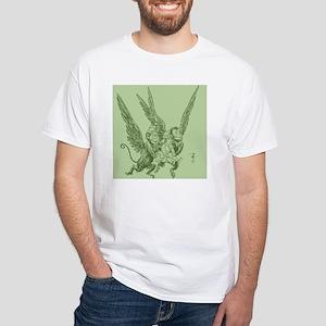 Oz Winged Monkeys White T-Shirt
