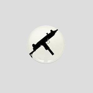 UZI Silhouette Mini Button