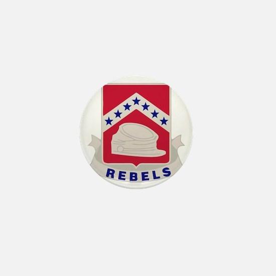 Allen Central HS Rebels Mini Button