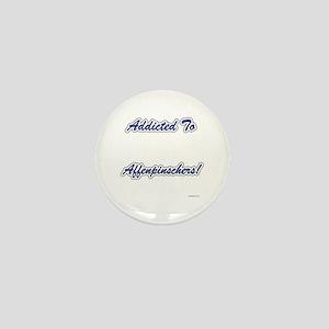 Affenpinscher Addicted Mini Button
