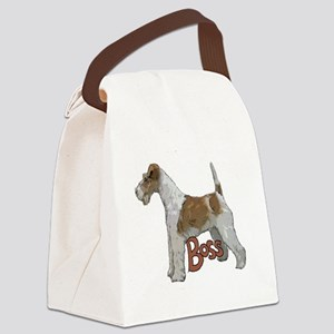 Wirehaired Fox Terrier Canvas Lunch Bag