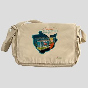 LTR - Left The Fish Store Hours Ago! Messenger Bag