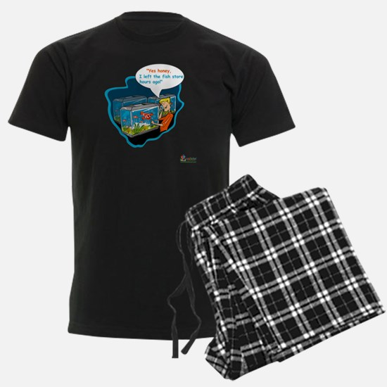LTR - Left The Fish Store Hour Pajamas