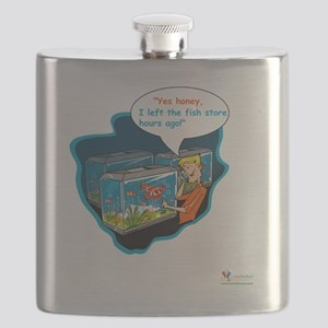 LTR - Left The Fish Store Hours Ago! Flask