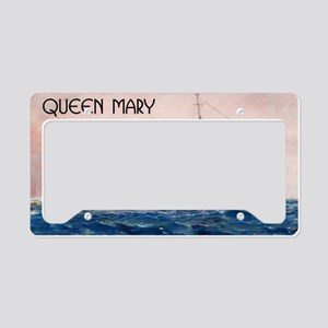 Queen Mary License Plate Holder