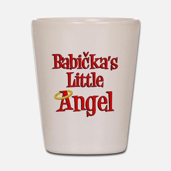 Babickas Little Angel Shot Glass