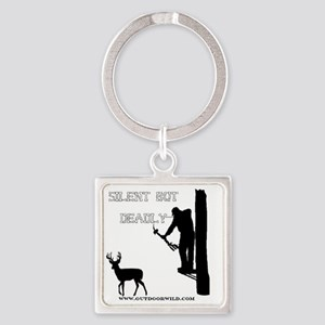 Silent But deadly Square Keychain