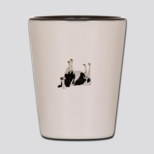 Cow Tipping Shot Glass