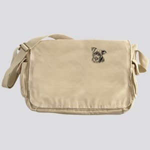 Save Dogs from Thugs Messenger Bag