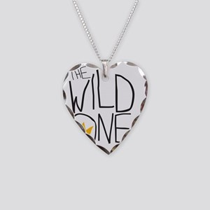 wild one Necklace Heart Charm