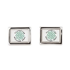 Visualize Whirled Peas 2 Cufflinks