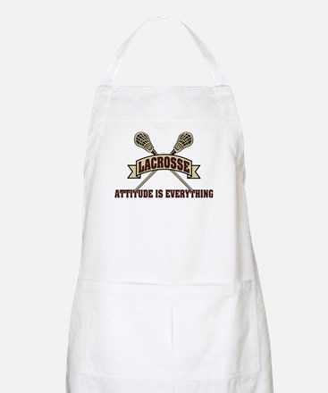 Lacrosse Attitude Is Everything Apron