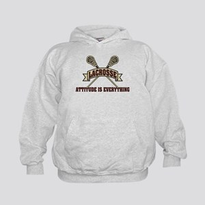 Lacrosse Attitude Is Everything Kids Hoodie