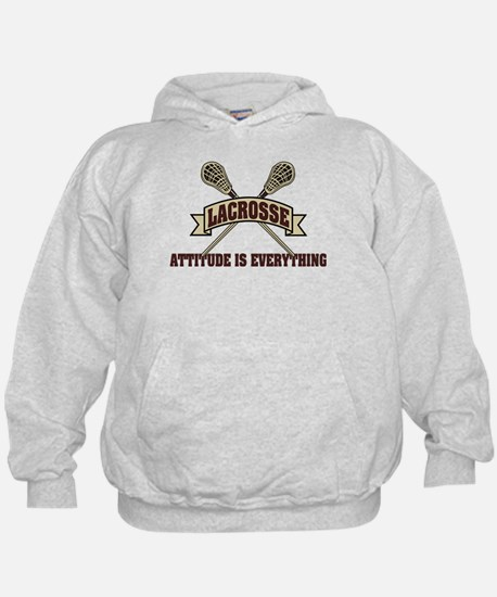 Lacrosse Attitude Is Everything Hoodie