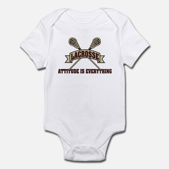 Lacrosse Attitude Is Everything Infant Bodysuit