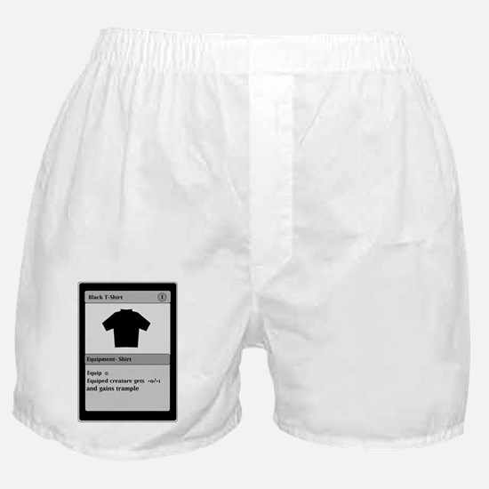 Funny Gamer T Shirt Boxer Shorts