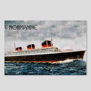 SS Normandie Postcards (Package of 8)