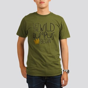 wild rumpus Organic Men's T-Shirt (dark)