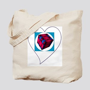 I Love You Cubed Tote Bag