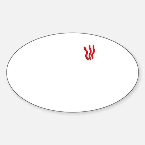 Push button! Sticker (Oval)