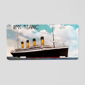 RMS Titanic Aluminum License Plate