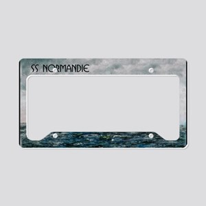 SS Normandie License Plate Holder