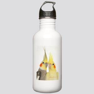 Cockatiel 2 Steve Dunc Stainless Water Bottle 1.0L
