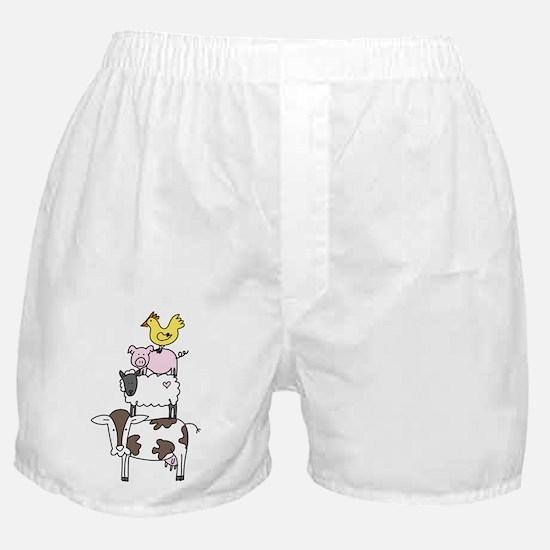 Farm Pyramid Boxer Shorts
