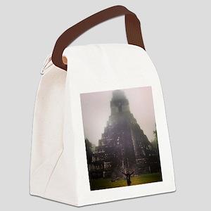 I LOVE TIKAL Canvas Lunch Bag