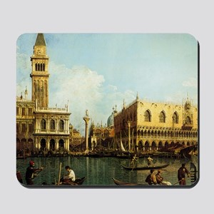 Canaletto The Pier Mousepad