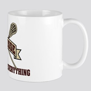 Lacrosse Attitude Is Everything Mug