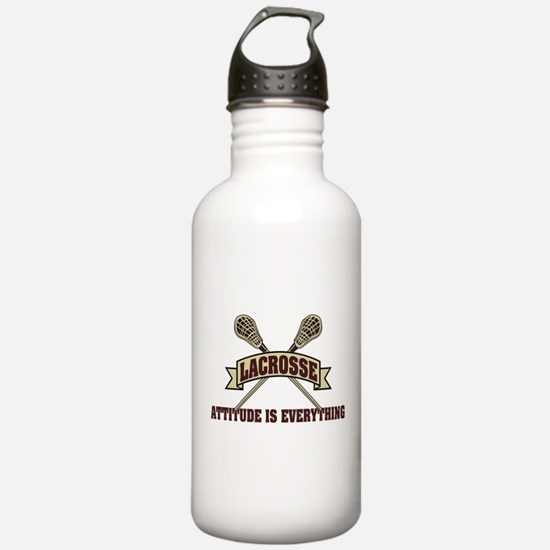 Lacrosse Attitude Is Everything Water Bottle