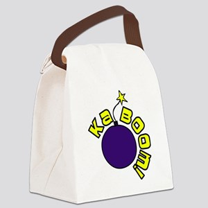 Kaboom Canvas Lunch Bag