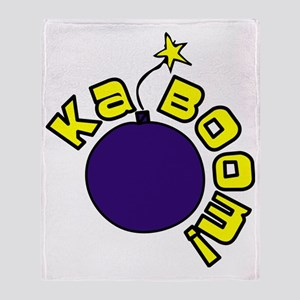 Kaboom Throw Blanket