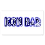 The Icon Bar Rectangle Sticker