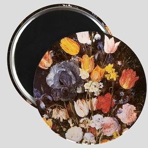 Jan Brueghel the Elder Vase Of Flowers Magnet