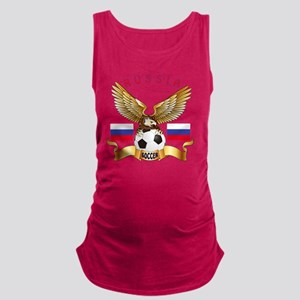 Russia Football Designs Maternity Tank Top