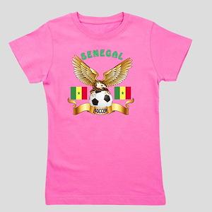Senegal Football Designs Girl's Tee