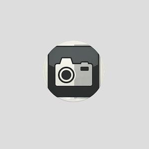 Kamera-Symbol Mini Button