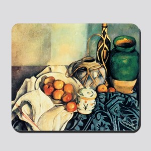 Paul Cezanne Still Life With Apples Mousepad