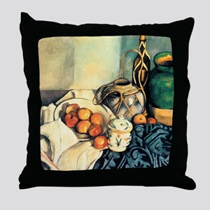 Paul Cezanne Still Life With Apples Throw Pillow