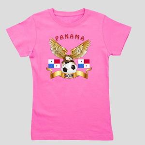 Panama Football Designs Girl's Tee