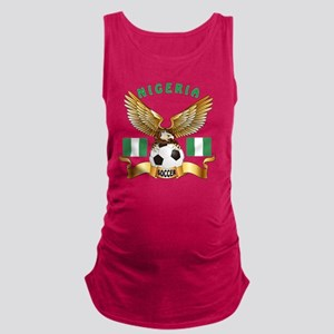 Nigeria Football Designs Maternity Tank Top