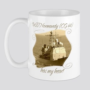 USS Normandy (CG 60) Mugs